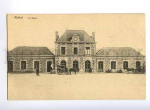 173392 FRANCE RETHEL La Gare Station Vintage postcard