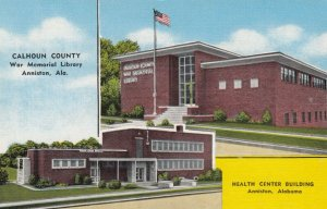 ANNISTON , Alabama, 1930-40s ; Library & Health Center