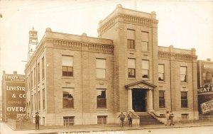 F53/ Pendleton Oregon RPPC Postcard 1916 City Hall Building