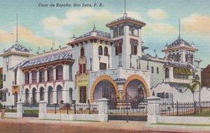 Casa de Espana, SAN JUAN , Puerto Rico , 30-40s
