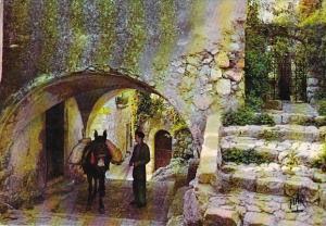 France Eze-Village La voute et l'ancienne Chapelle des Penitents Blancs