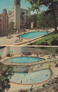 HOT SPRINGS , Arkansas , 1964 , The Arlington , Swimming Pool