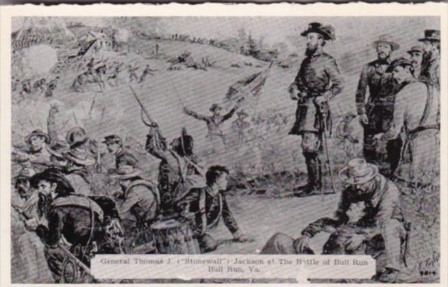 General Thomas J Stonewall Jackson At Battle Of Bull Run Virginia Dexter Press