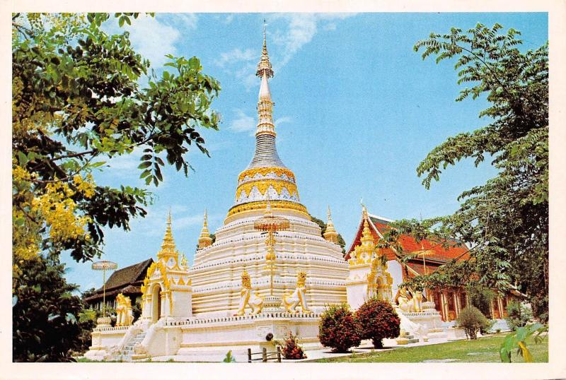 Wat Saen Fang in the heart of Chiengmai city North Thailand