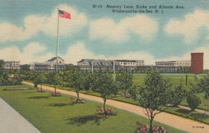 WILDWOOD BY-THE-SEA, New Jersey, 1930-40s; Memory Lane, Burke & Atlantic Ave.