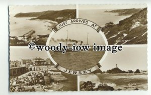 f0230 - Ferry - on a Jersey multiview postcard