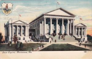 Virginia Richmond State Capitol 1907