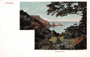 Anstey's Cove, Torquay, England, Early Postcard, Unused