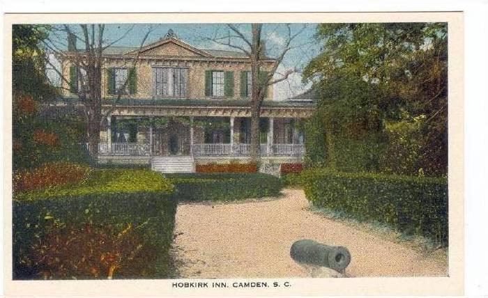 Hobkirk Inn, Camden, South Carolina, 1910s