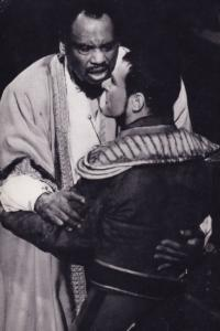 Paul Robeson as Othello Rare Shakespeare Theatre Company Postcard