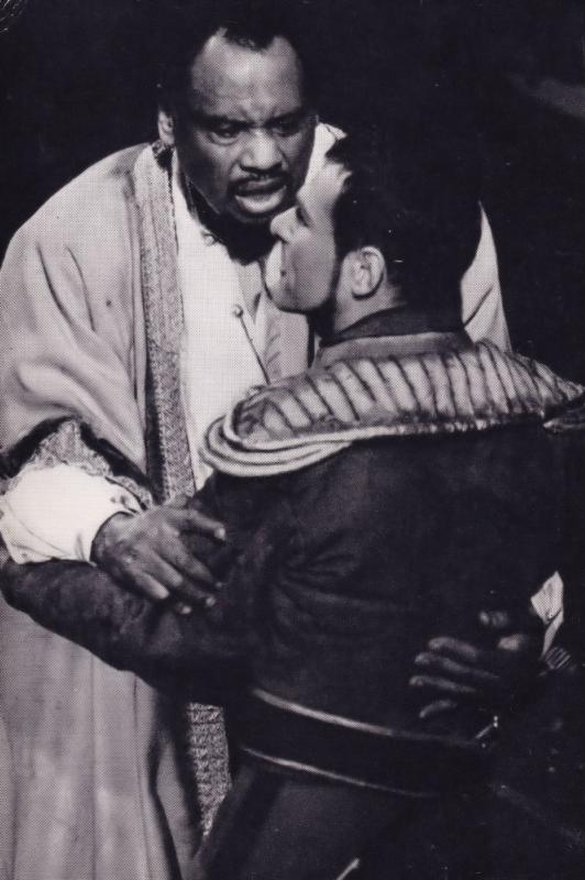Paul Robeson as Othello Rare Shakespeare Theatre Company Postcard