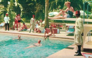 Morocco Grand Hotel |Villa de France Tangier Vintage Postcard 07.32