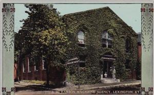 J M Hanson Magazine Agency Lexington Kentucky 1913