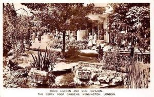 Rock Garden and Sun Pavilion, The Derry Roof Gardens, Kensington London