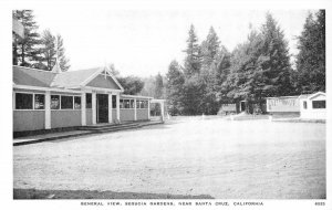 SEQUOIA GARDENS General View Sequoia Inn Santa Cruz, CA c1920s Vintage Postcard