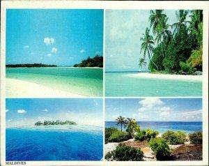 JD0012 maldives islands arabian sea indian ocean islands palm trees sand beach