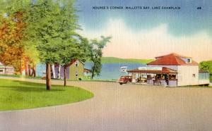 VT - Malletts Bay, Lake Champlain. Nourse's Corner
