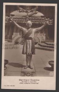 112606 Bernhard GOETZKE Great MOVIE Star FAKIR old Rare PHOTO