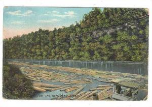 Scene On The Kentucky River, Paducah, Kentucky, PU-1909