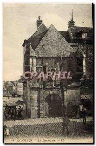 Old Postcard Honfleur Lieutenancy