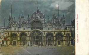 Italy Venezia basilica s marco  Postcard