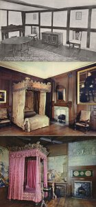 Lord Darnsley Of Mary Queen Of Scots Bedroom 3x Postcard s