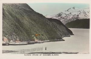 RP, Cruise Ship Steamer, SKAGWAY,  Alaska, 20-40s