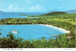 postcard Virgin Islands - Caneel Bay Plantaion, St. John