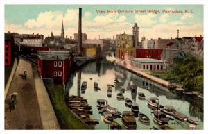 Rhode Island   , Aerial view of Pawtucket