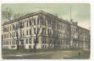 Fort Wayne, Indiana, PU-1909 ; High School (Exterior)