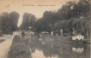 FOECY , France, 00-10s; Bassin du Canal et Ecluse
