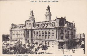 BUENOS AIRES, Argentina, 1900-1910´s; Custom House