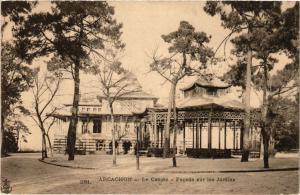 CPA ARCACHON Le Casino-Facade sur les Jardins (336508)