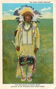 Linen of Iron Hail Survivor of Wounded Knee Indian Battle