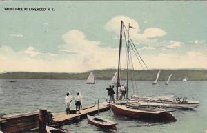 LAKEWOOD , New York  , 1908 ; Yacht Race