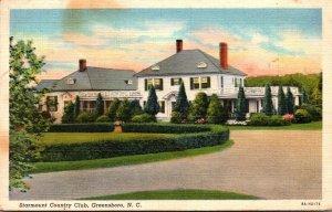North Carolina Greensboro Starmount Country Club 1940