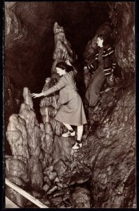 Massive Stalagmite,Cave of the Mounds,Blue Mounds,WI