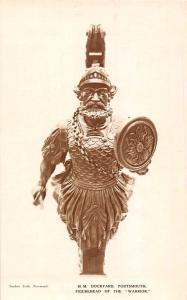 England Portsmouth (Hampshire) H.M. Dockyard Figurehead of the Warrior Art