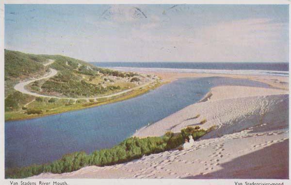 Van Stadens River Mouth South Africa Postcard