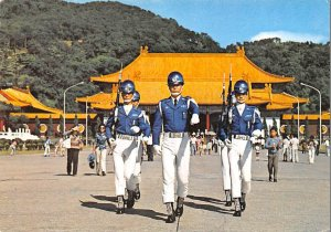 Honour Guards in National Revolutionary Martyrs' Shrine Taipei China, People'...