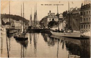 CPA MORLAIX - Le bassin a flot (457843)