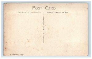 Boar Lane Leeds England Real Photo Postcard RPPC The Grand Restaurant
