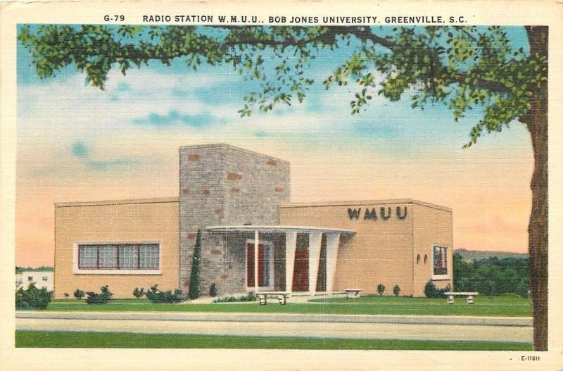 Greenville South Carolina~Bob Jones University~Radio Station