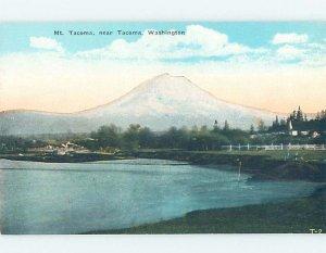 Divided-back NATURE SCENE Tacoma Washington WA AD5122
