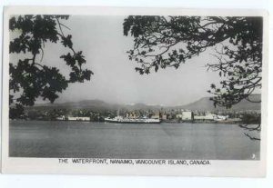 RPPC The Waterfront at Nanaimo, Vancouver Island ,British Columbia, BC, Canada
