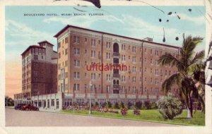 BOULEVARD HOTEL, MIAMI BEACH, FL 1946