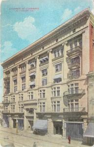 Los Angeles California~Chamber of Commerce Building~Close Up~1910