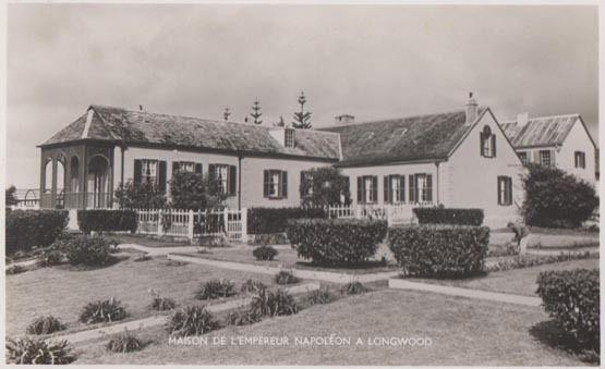 St Helena Maison Napoleon Longwood South Atlantic Island Real Photo Postcard