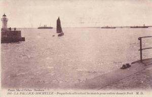 Paquebots attendant la maree pour entrer dans le Port , LA PALLICE-ROCHELLE, ...