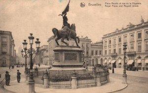 Royal Place and Regent Street,Brussels,Belgium BIN